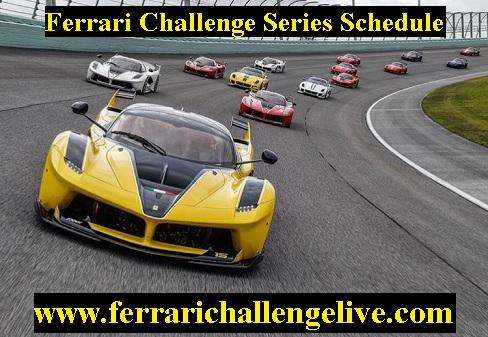 2017 Ferrari Challenge Series Schedule