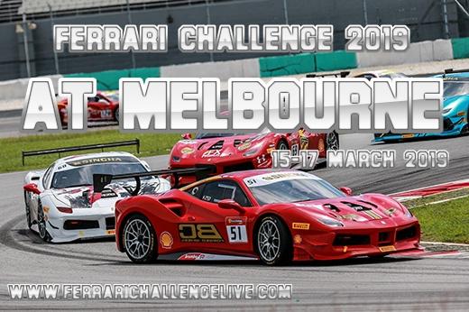 Ferrari Challenge Melbourne Live Stream