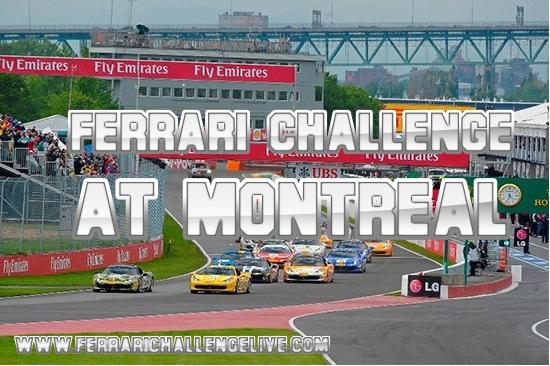 Montreal Ferrari Challenge Live Stream