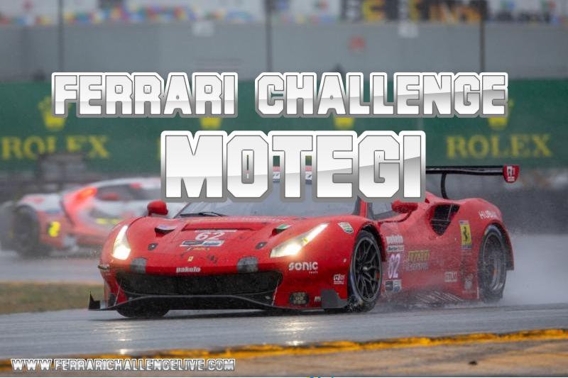 Motegi Ferrari Challenge Live Stream