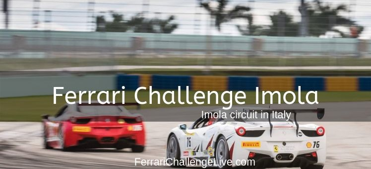 Ferrari Challenge Imola Live Stream