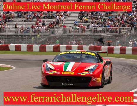 Live Montreal Ferrari Challenge