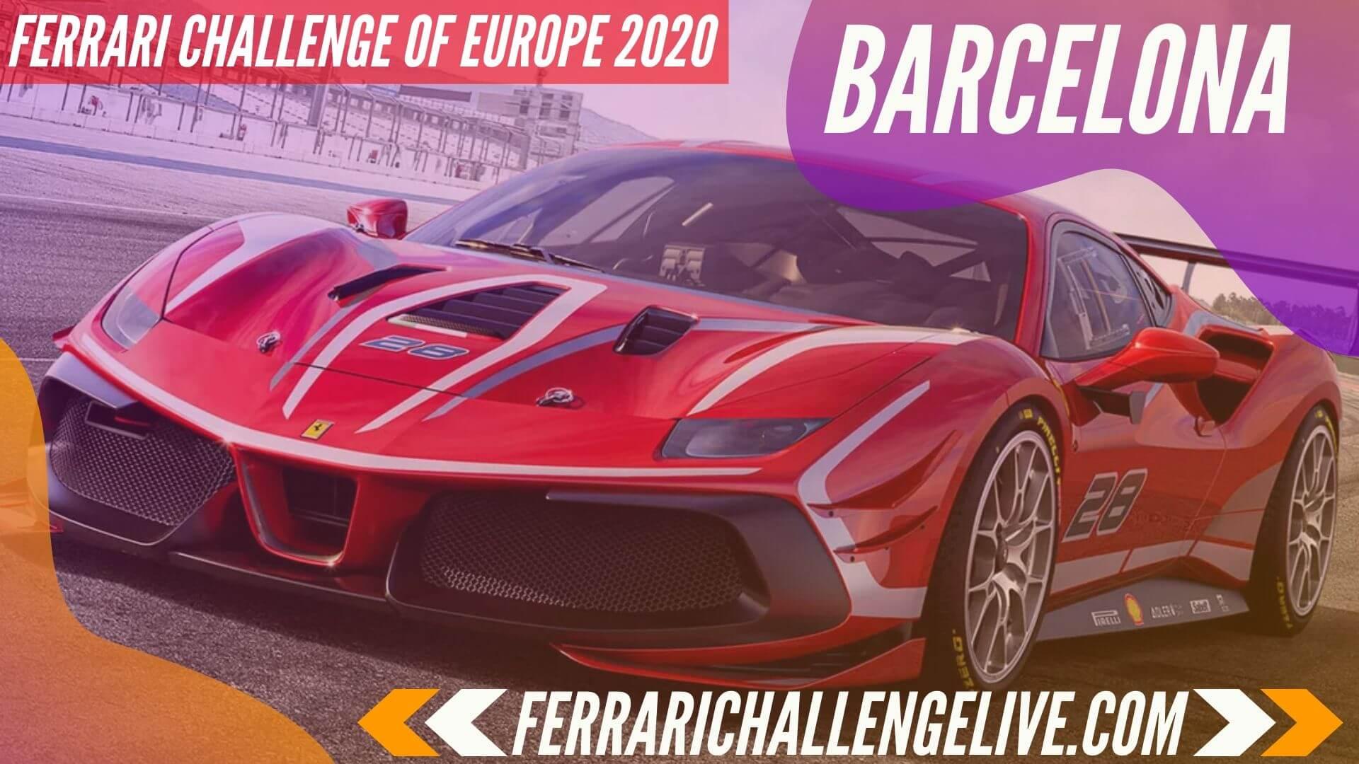Barcelona Live Stream 2020 | Ferrari Challenge Europe