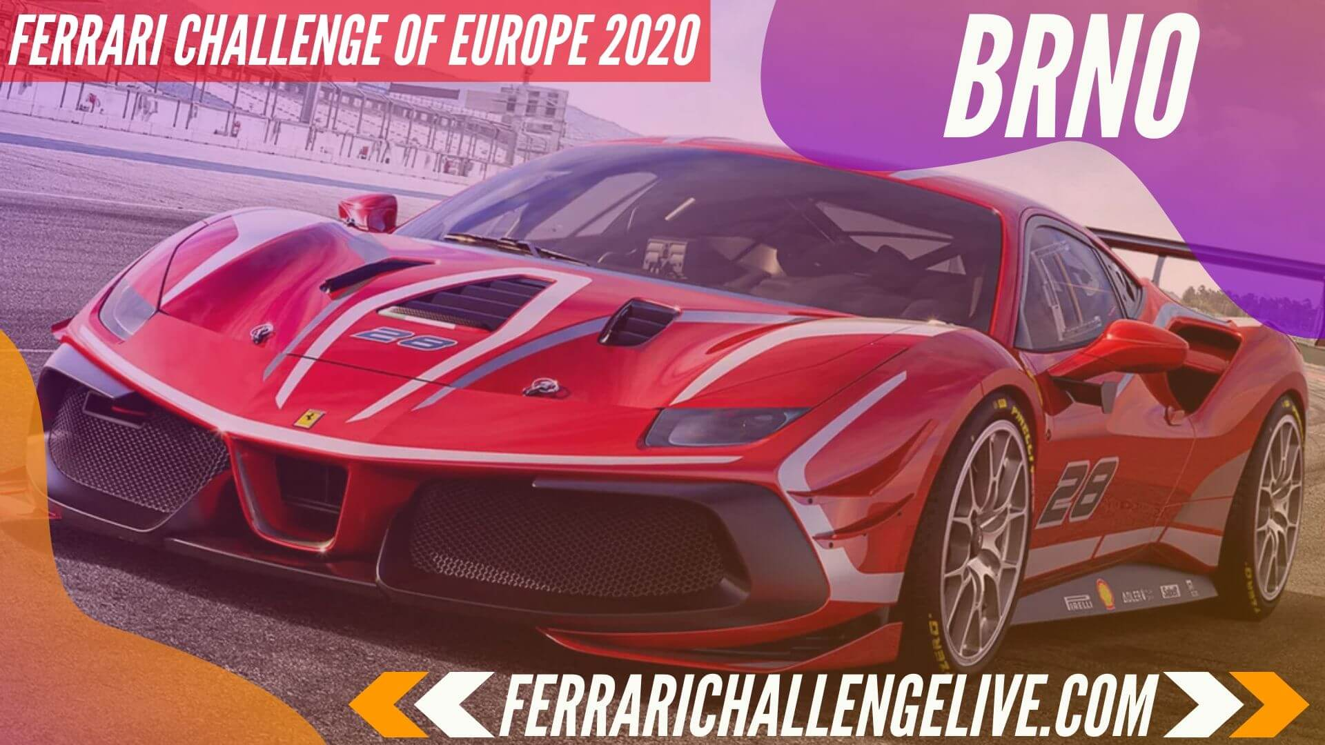 Brno Live Stream 2020 | Ferrari Challenge Europe