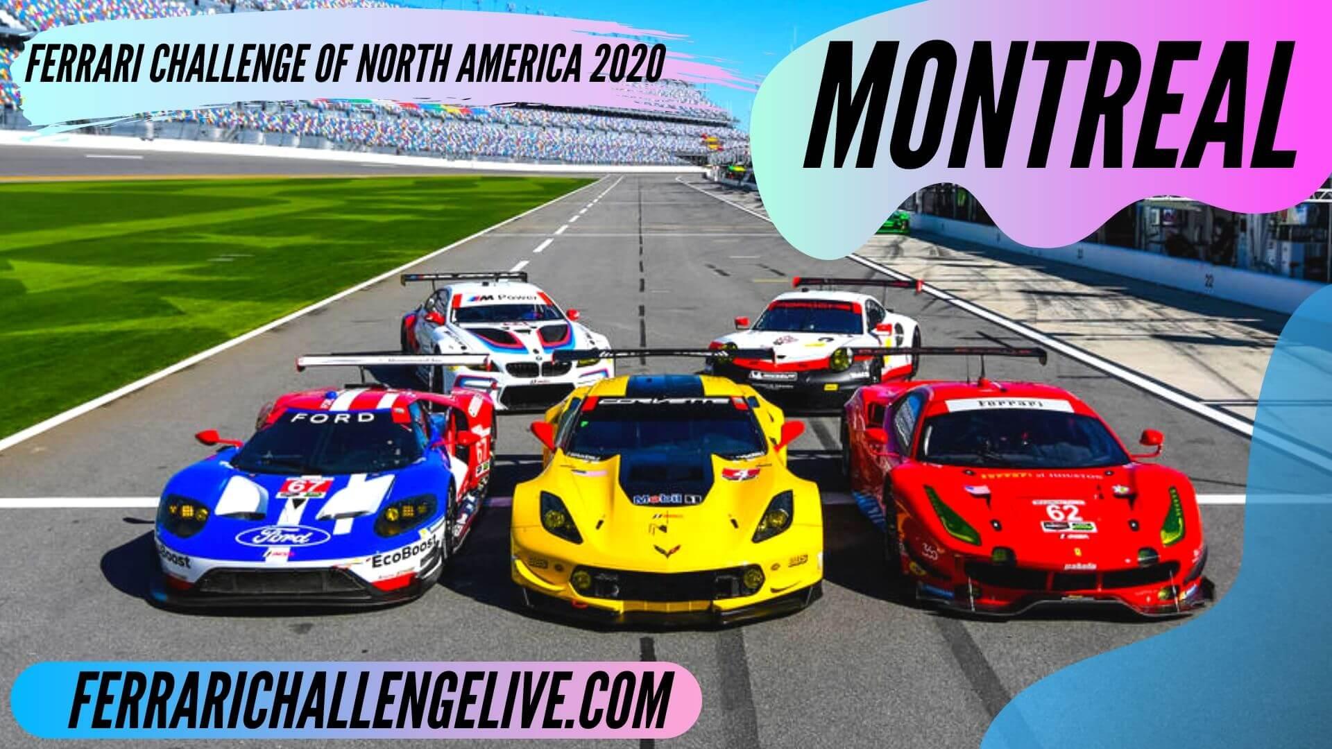 Montreal Live Stream 2020 | Ferrari Challenge North America