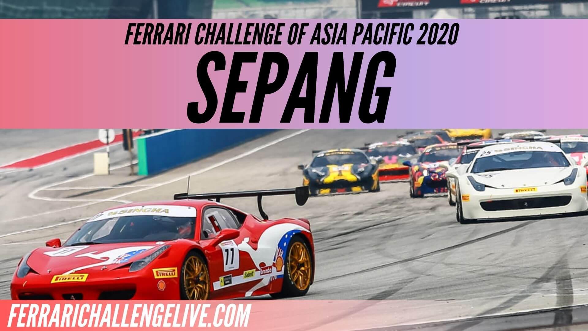 Sepang Live Stream 2020 | Ferrari Challenge Asia Pacific