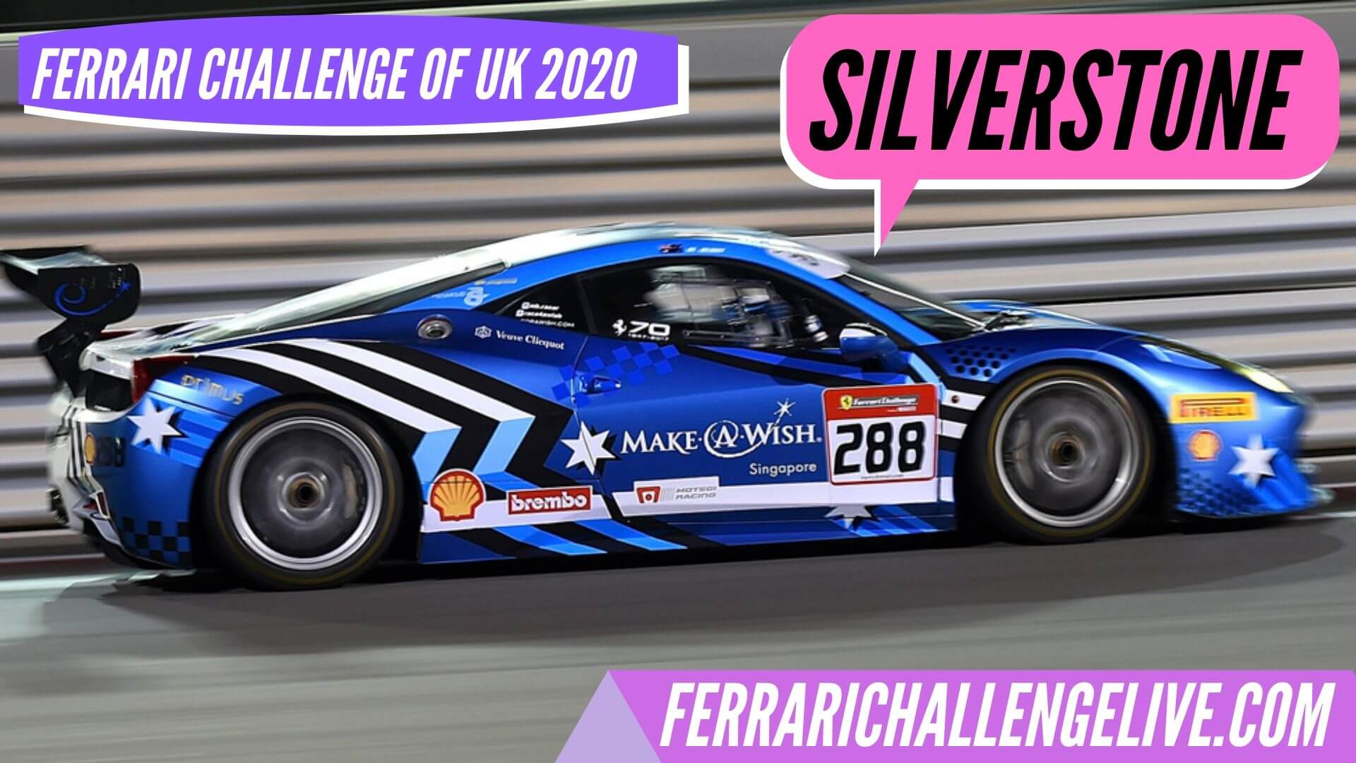 Silverstone Live Stream 2020 | Ferrari Challenge UK
