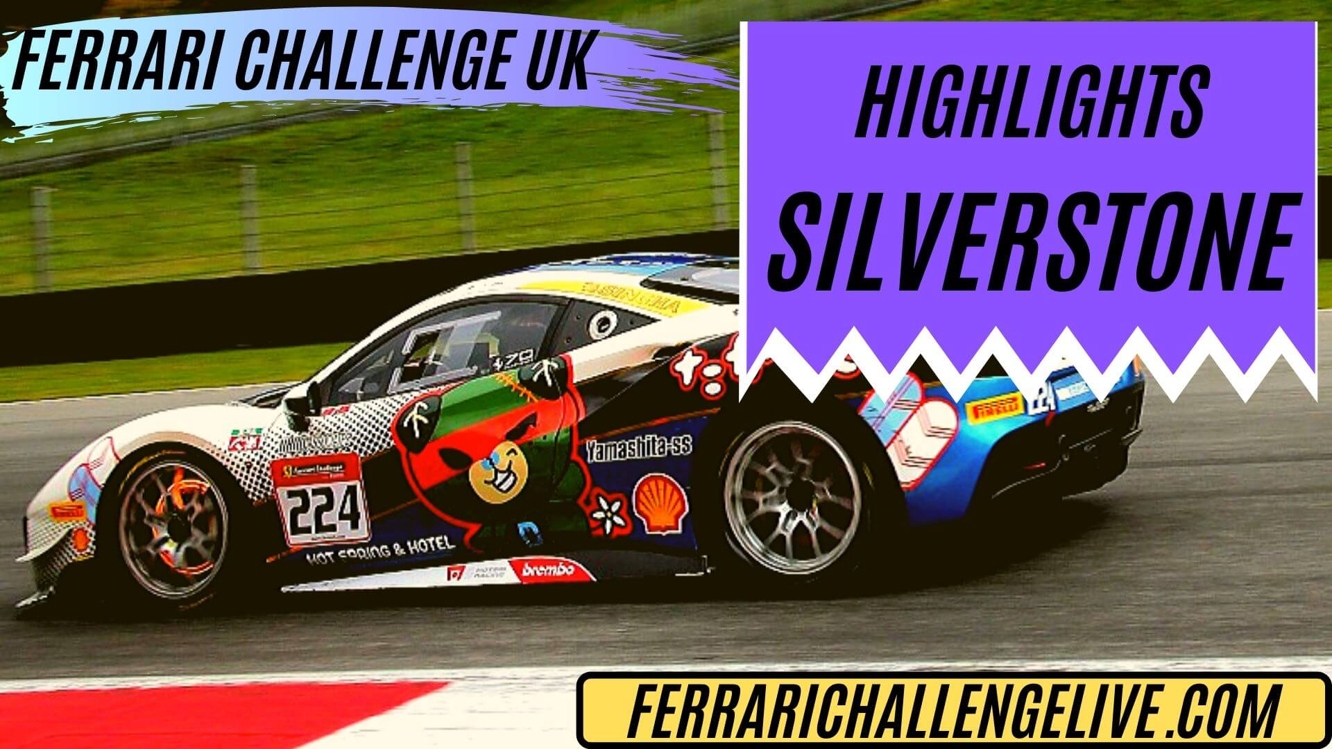 Silverstone Ferrari Challenge UK Highlights 2019
