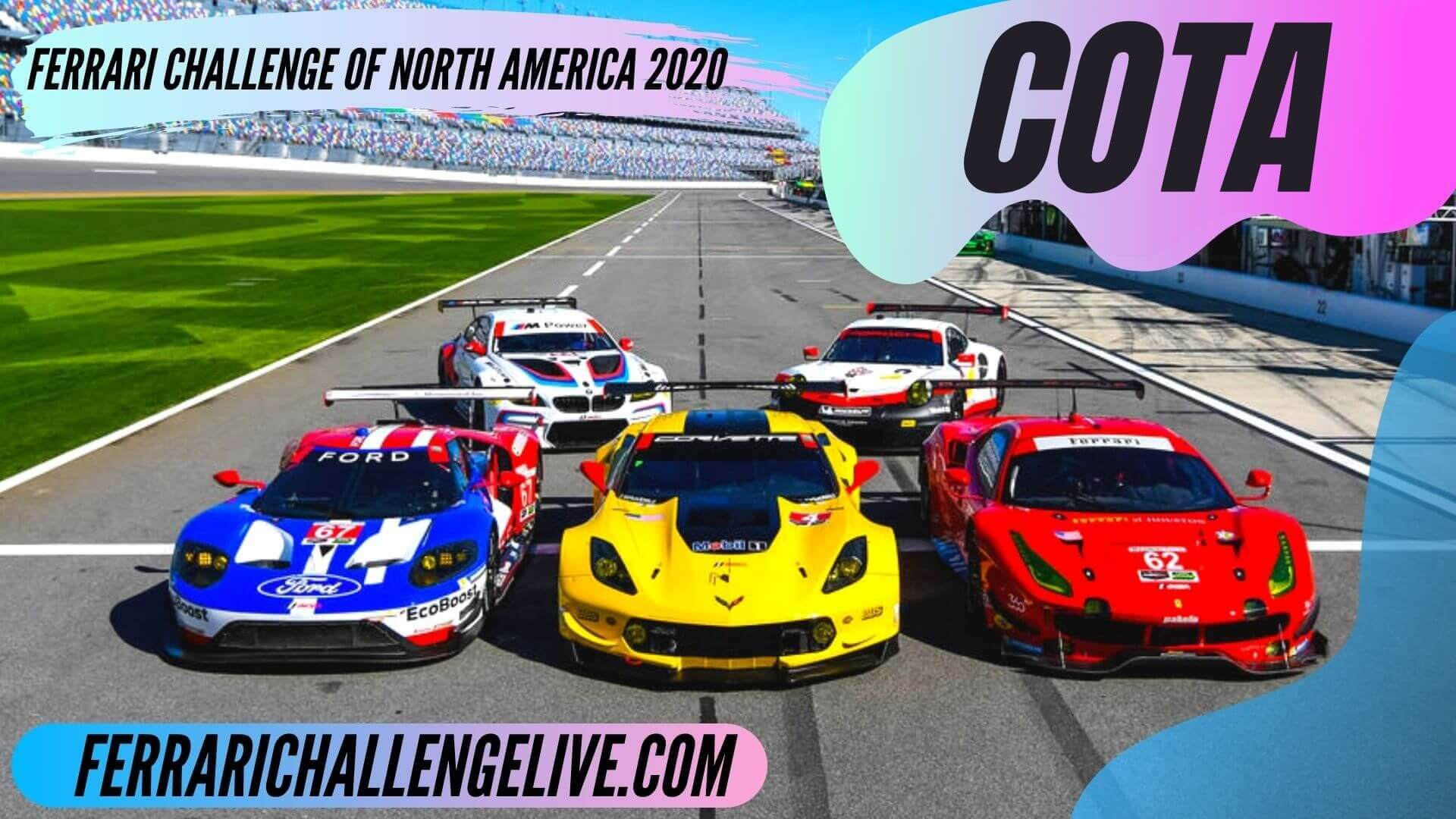 COTA Live Stream 2020 | Ferrari Challenge North America