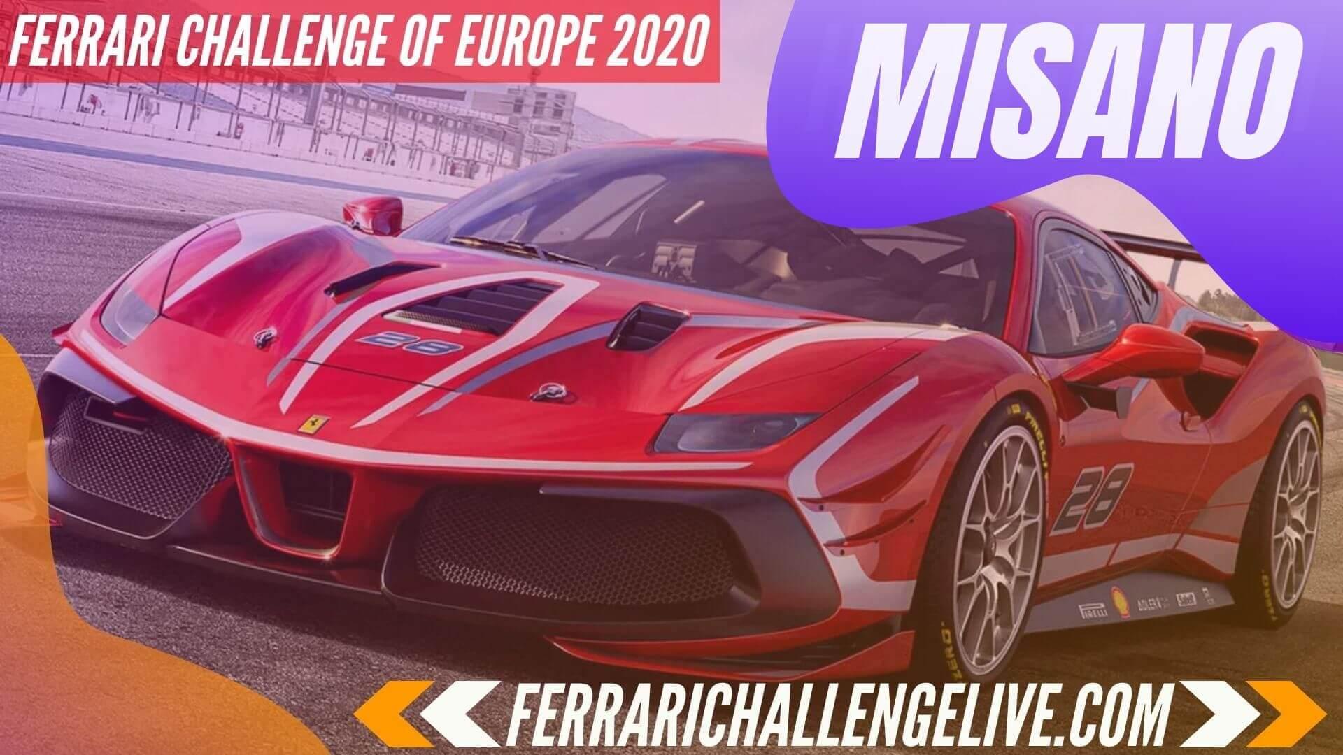 Misano Live Stream 2020 | Ferrari Challenge Europe