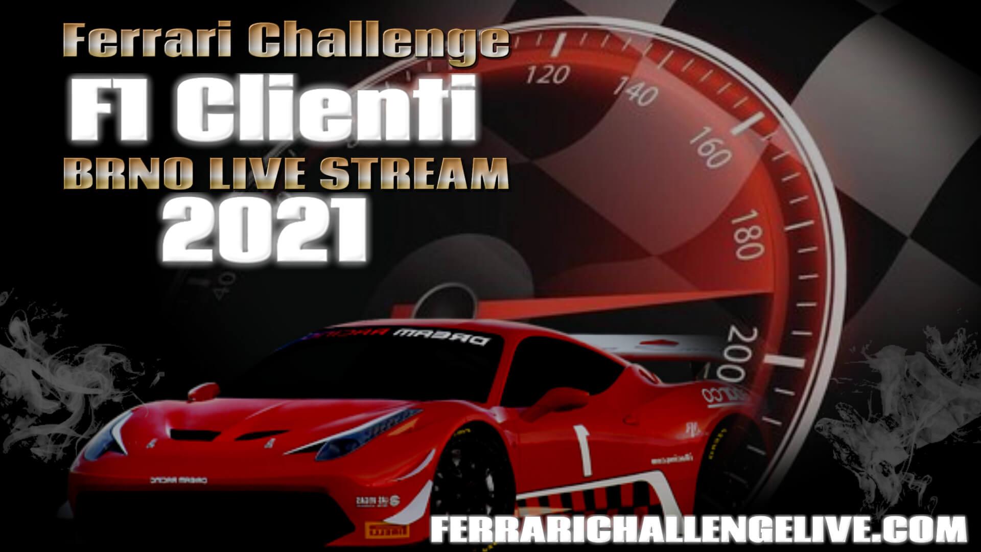 Brno Live Stream 2021   Ferrari Challenge F1 Clienti