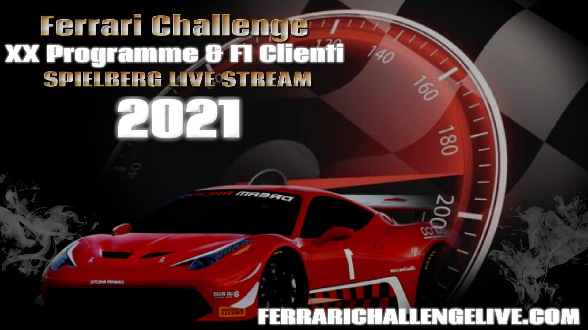 Spielberg Live Stream 2021   Ferrari Challenge F1 Clienti