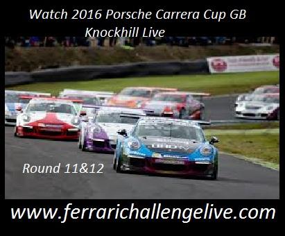 Carrera Cup GB Knockhill Live