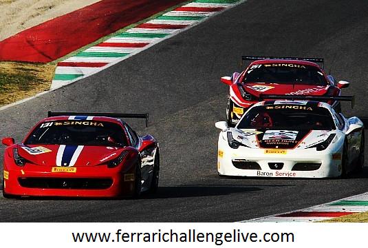 Ferrari Challenge Sepang Race Live