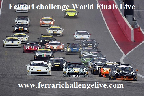 Ferrari challenge World Finals live