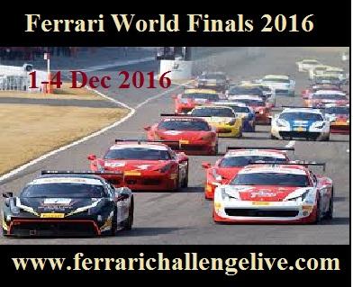 Ferrari World Finals 2016 live stream