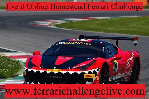 Homestead Ferrari Challenge Live