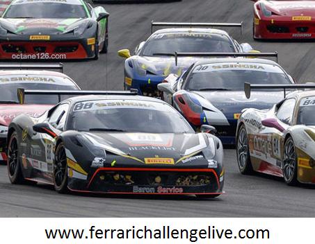 Live Ferrari Corse Clienti Sepang Race