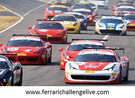 Live Ferrari Corse Clienti Sepang