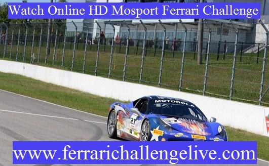 Mosport Ferrari Challenge Live