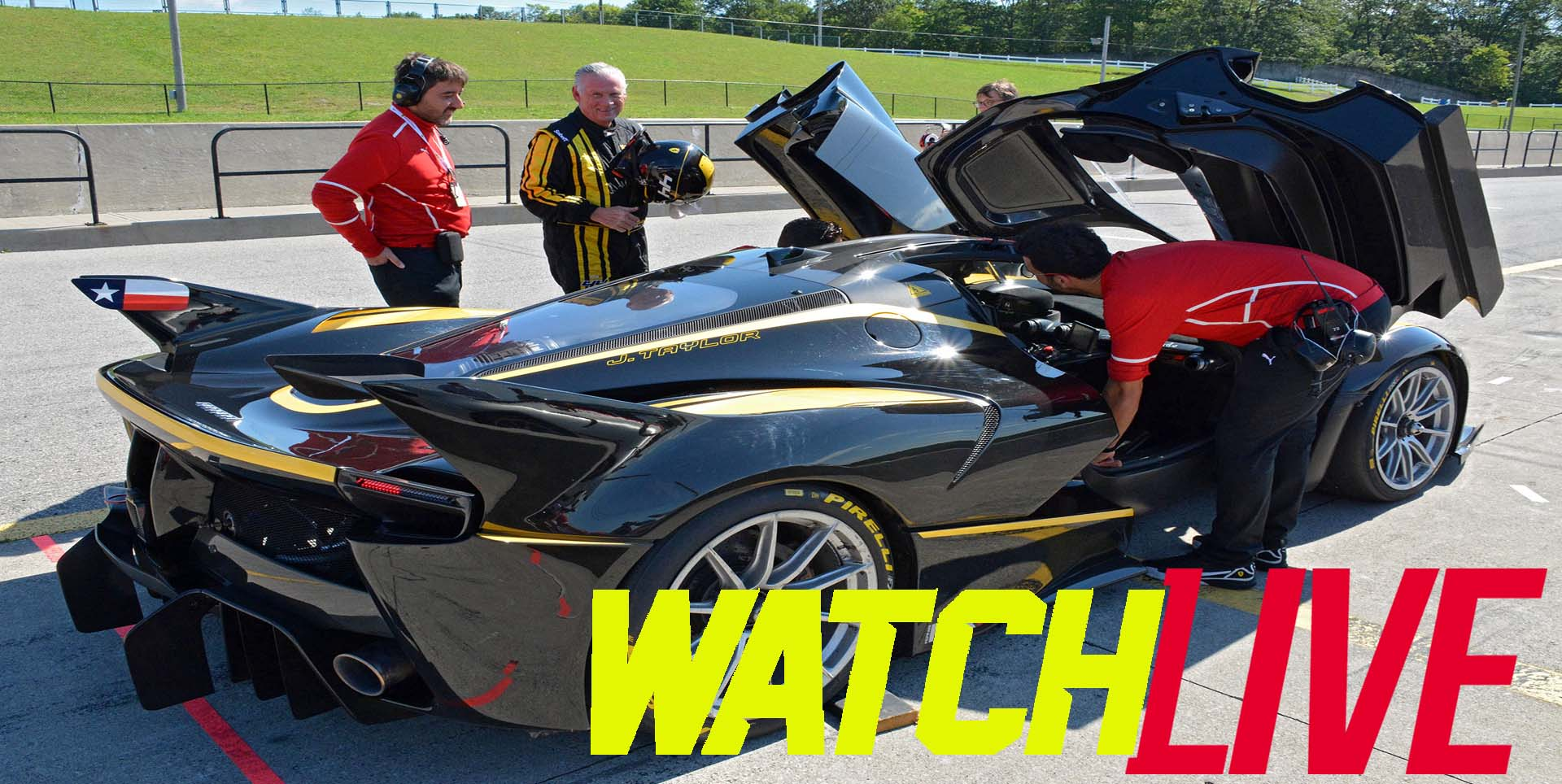 Watch Ferrari Challenge Live 2018 slider