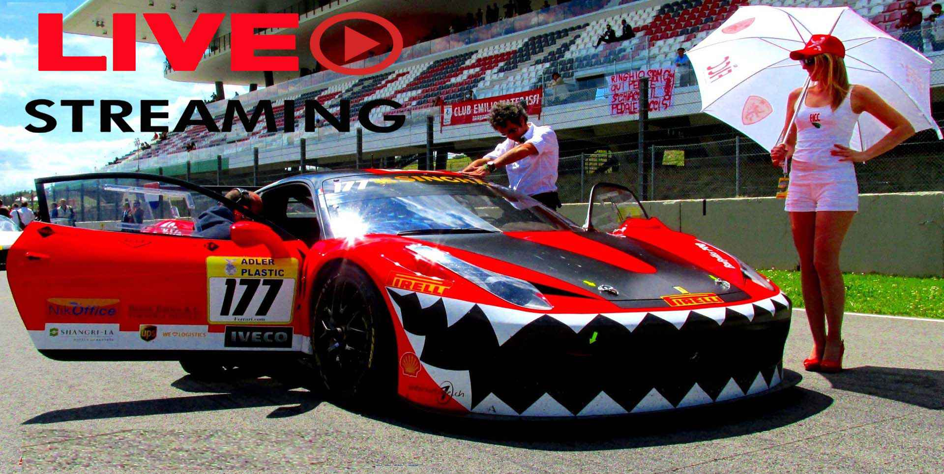 Watch Ferrari Challenge Live Stream 2020 slider