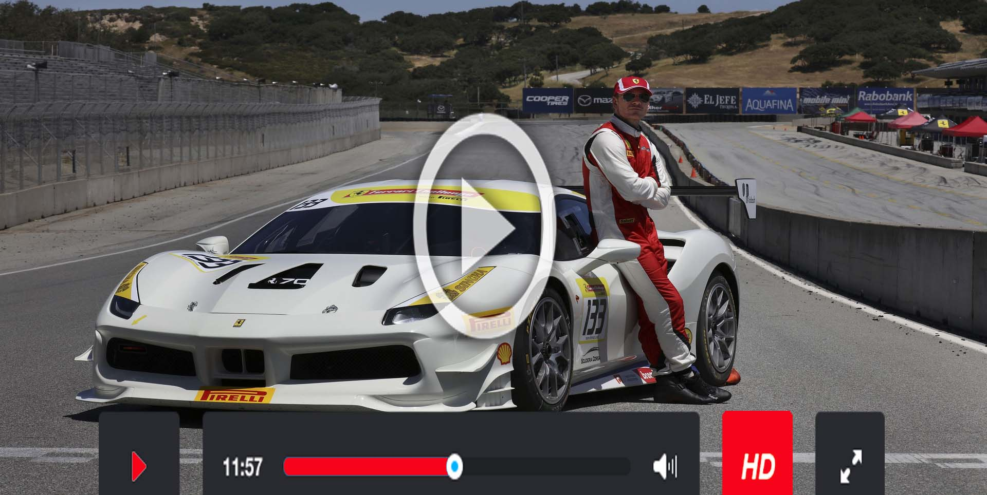 Live Ferrari challenge World Finals Stream