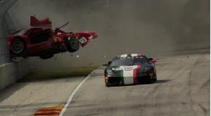 2018 Ferrari Challenge Crashes